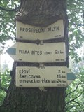 Image for Rozcestnik (Prostredni Mlyn) - Velka Bites, Czech Republic