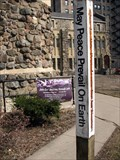 Image for Epworth United Methodist Church peace pole - Chicago, IL