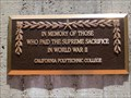 Image for Cal Poly World War II Memorial - San Luis Obispo, CA