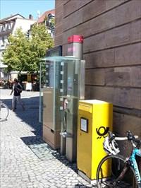 Telefonzelle Marktplatz