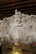 Image for Royal Coat of Arms -- Grand  Storehouse Pediment, Tower of London, Tower Hamlets, London, UK
