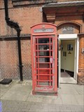 Image for Red Telephone Box - High Street, Harrow-on-the-Hill, London, UK