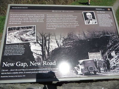 New Gap, New Road - Newfound Gap, Tennessee