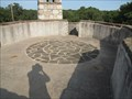 Image for Longhorn Cavern Administration Building Rooftop Compass Rose - Marble Falls, TX