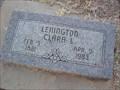 Image for 102 - Clara L. Lenington - Osage Cemetery - Agra, OK