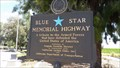 Image for Hway 99 Blue Plaque - Tulare, CA