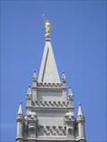 Image for Angel Moroni Steeple - Salt Lake City Temple - Utah