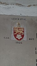 Image for Diocese of Leicester arms - St Andrew - North Kilworth, Leicestershire