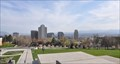 Image for Salt Lake City From The State Capitol Steps