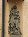 Image for Virgin Mary with infant Jesus, Marienheim, Ostengasse 36, Regensburg - BY / Germany