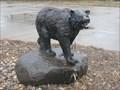 Image for Black Bear Sculpture – Tea, SD
