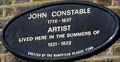 Image for John Constable - Lower Terrace, London, UK