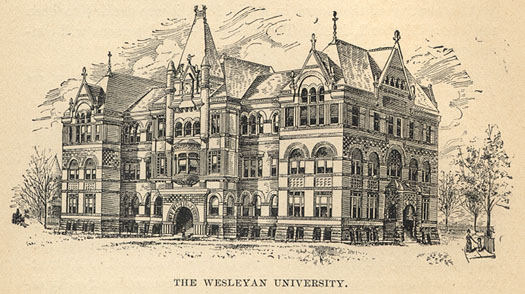 Nebraska Wesleyan University Old Main Lincoln Nebraska Photos