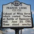 Image for L 61 Francis Locke 1722-1796