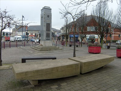 Caerphilly Town Center