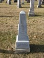 Image for August Heinrich Berger - St. James UCC Cemetery - (Charlotte) - S. of Drake, MO USA