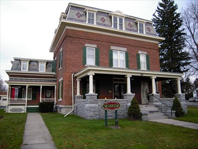 Howe, Dr. John Quincy, House - Phelps, NY - U.S. National Register of