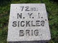 Image for 72nd New York Infantry Position Marker - Gettysburg, PA