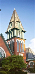 Image for First Presbyterian Church Steeple - Carmi, IL