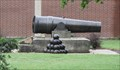 Image for Civil War Coastal Defense Cannon -- Newton KS