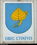 Image for Znak Ctinevse na obecním urade / Ctineves CoA on the Municipal Office - Ctineves (North Bohemia)