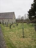 Image for Cemetery, Church of St. Gwawr, Llangywer, Bala, Gwynedd, Wales, UK