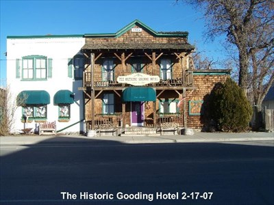 The Historic Gooding Hotel Bed Breakfast