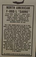 "Image for First Flight of F-86D ""Sabre"" Jet Fighter"