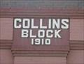 Image for 1910 - Collins Block Building - Ellensburg, Washington