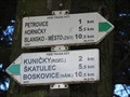 Image for Direction and Distance Arrows - Zdar, Czech Republic