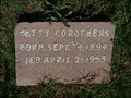Image for Betty Corothers - Ables Cemetery - Cooke County, TX