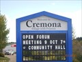 "Image for Welcome to Cremona - ""Village with Promise"" - Cremona, Alberta"