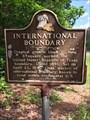 Image for International Boundary - De Soto Parish, LA