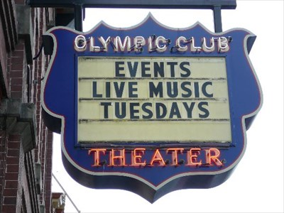 Olympic Club Signs - Centralia, WA - Neon Signs on