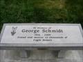 Image for George Schmidt Bench - Heritage Park, Springville, Utah