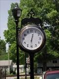 Image for Clock at the Public Square – Adairsville, GA