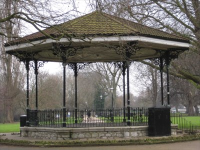 Mill Meadows Bandstand The Embankment Bedford
