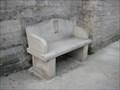 Image for Portland stone bench - Upwey - Dorset