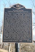Image for Mount Salem United Methodist Church (NC-163) - Wilmington, DE