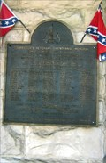 Image for Confederate Veterans Bicentennial Memorial - Hamilton, AL