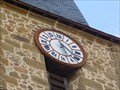 Image for The clock on the church tower -  Rochechouart (Haute-Vienne)