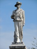 Image for Confederate Soldier - Lake Eola Park - Florida, USA.