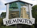 Image for Hemington Village Sign - Northamptonshire, UK