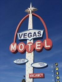 Vegas Motel Sign, Las Vegas, Nevada