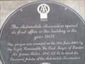 Image for AA sign - Fleet Street - London, Great Britain.