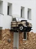 Image for Car on a wall - Nürnberg/ Bayern/ Deutschland