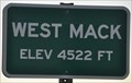 Image for West Mack ~ Elevation 4522 Feet