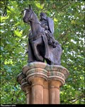 Image for Sculpture on Knights Templar Column - Inner Temple (London)