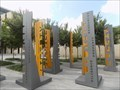 Image for 'Justice Within' art project installed in downtown Oklahoma City - OKC, OK