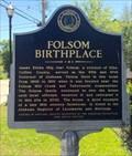 Image for Folsom Birthplace - Elba, Alabama